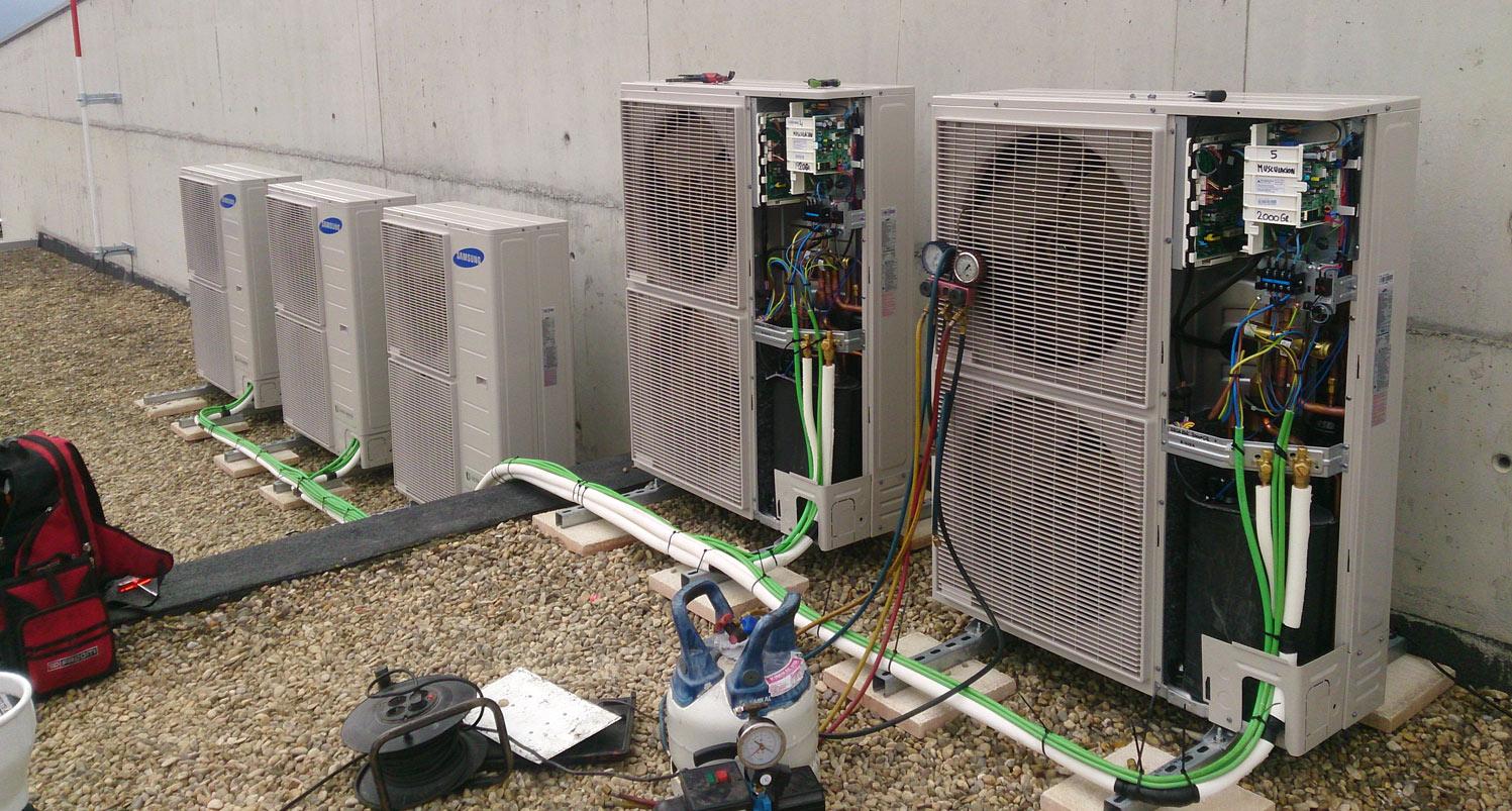 ASOFRIGO vista instalación de climatización comercial